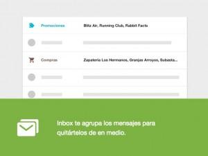 Categorias Inbox